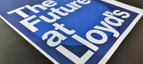 Future At Lloyd's: Blueprint One in a nutshell