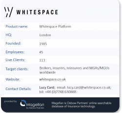 Oxbow Partners TechExec Interview - Whitespace company profile