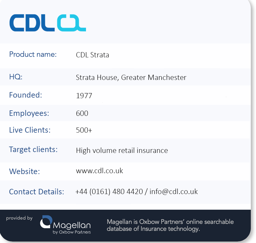 TechExec: CDL factfile