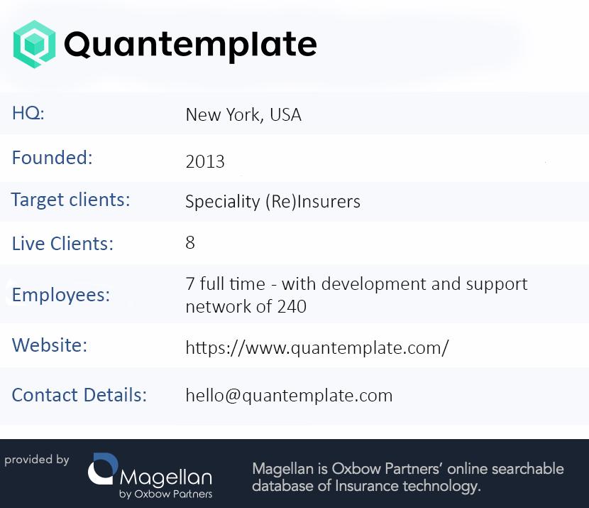 TechExec Factfile: Quantemplate